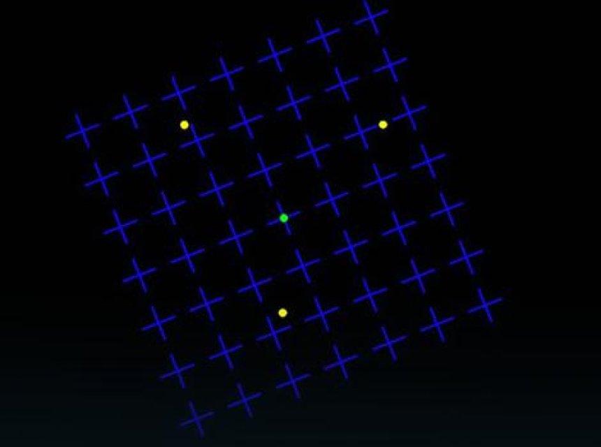 Iluzioni optik që po çmend internetin: A i shihni pikat e verdha?