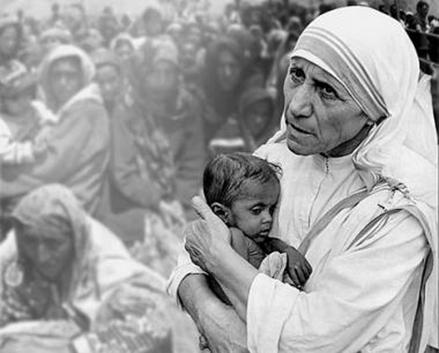 Jeta e Nënës Terezë! (Foto)