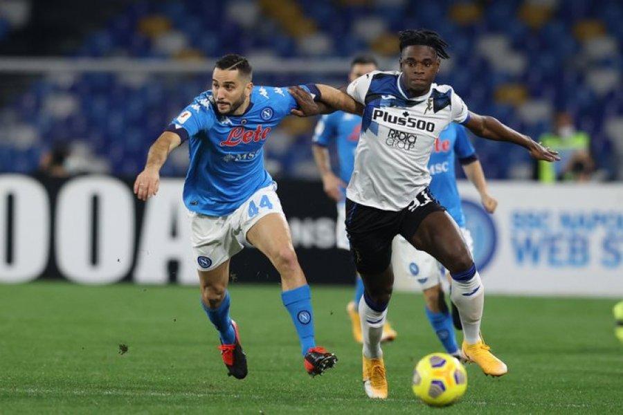 ناپولی و آتالانتا در اولین نیمه نهایی جام ایتالیا بازی می کنند