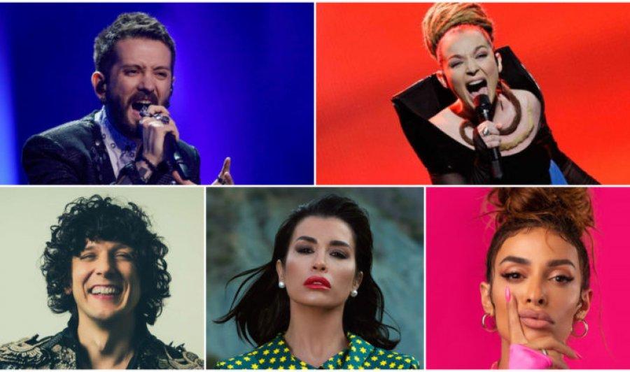 آهنگ های آلبانیایی ، در لیست 250 بهترین آهنگ در تاریخ یوروویژن