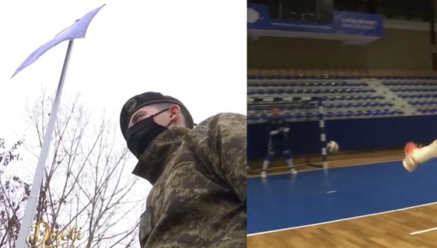 رینور دراگوشا ، یک ورزشکار کوزووئی ، تصمیم گرفت به عنوان سرباز در کوزوو خدمت کند