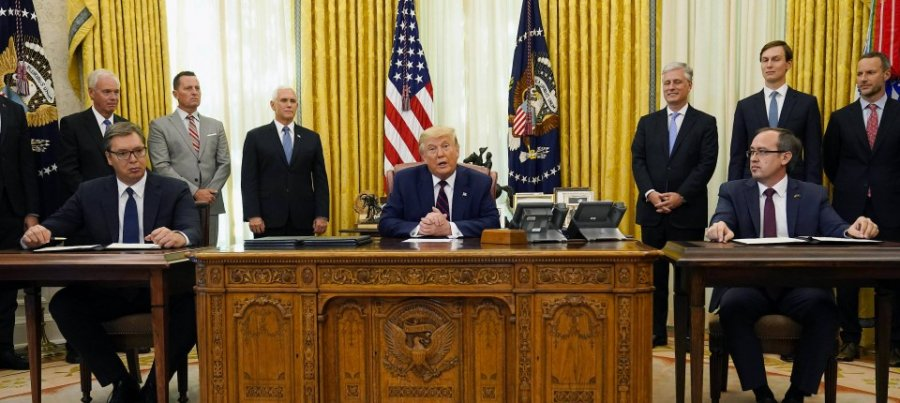 Frankfurter Allgemeine Zeitung: نحوه دخالت ترامپ در سیاست داخلی کوزوو