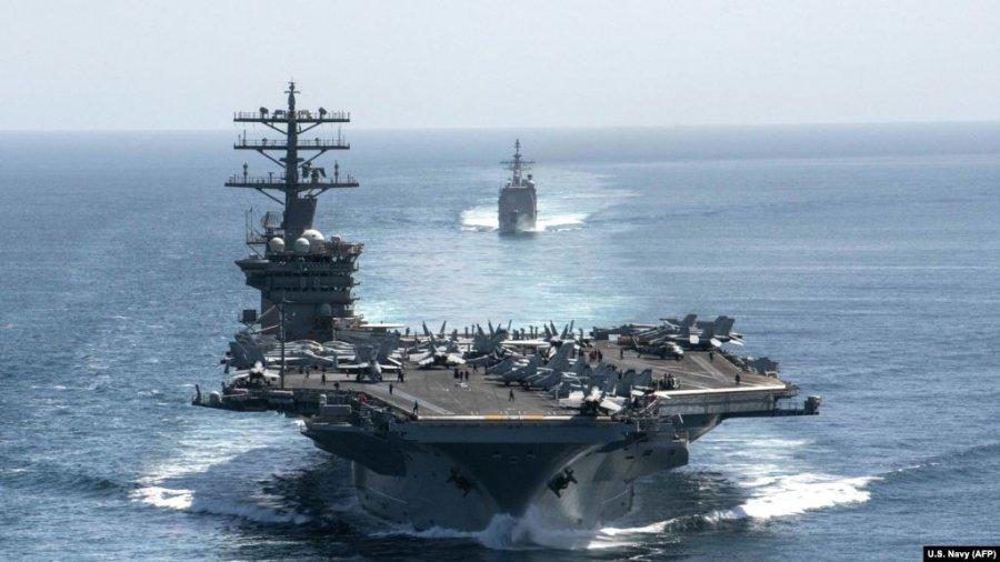 ایالات متحده به دلیل تهدیدهای ایران حضور خود را در خلیج فارس حفظ می کند