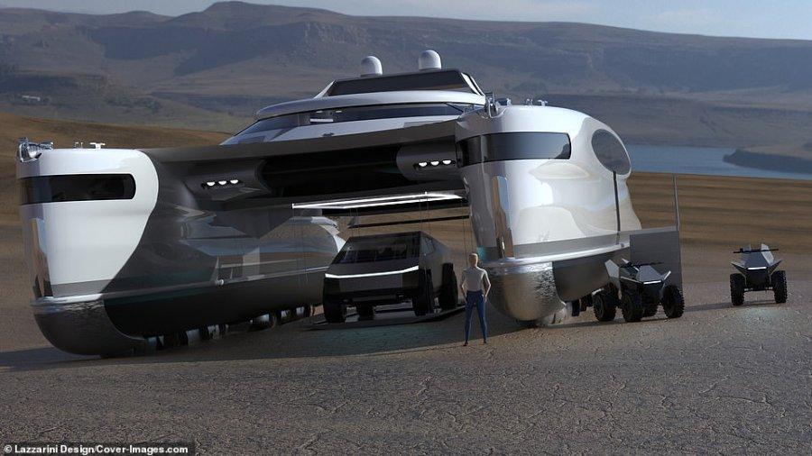 یک قایق بادبانی به شکل خرچنگ 22 میلیون یورو هزینه دارد