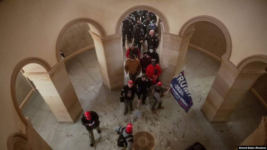 کیفرخواست علیه 15 نفر به اتهام حمله به کنگره آمریکا