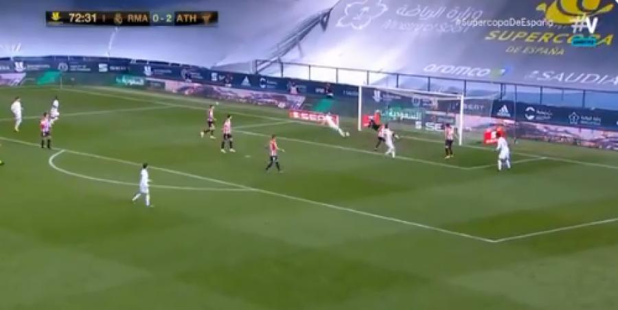 رئال مادرید تسلیم نشد و 15 دقیقه قبل از پایان بازی مقابل بیلبائو اختلاف را کم کرد