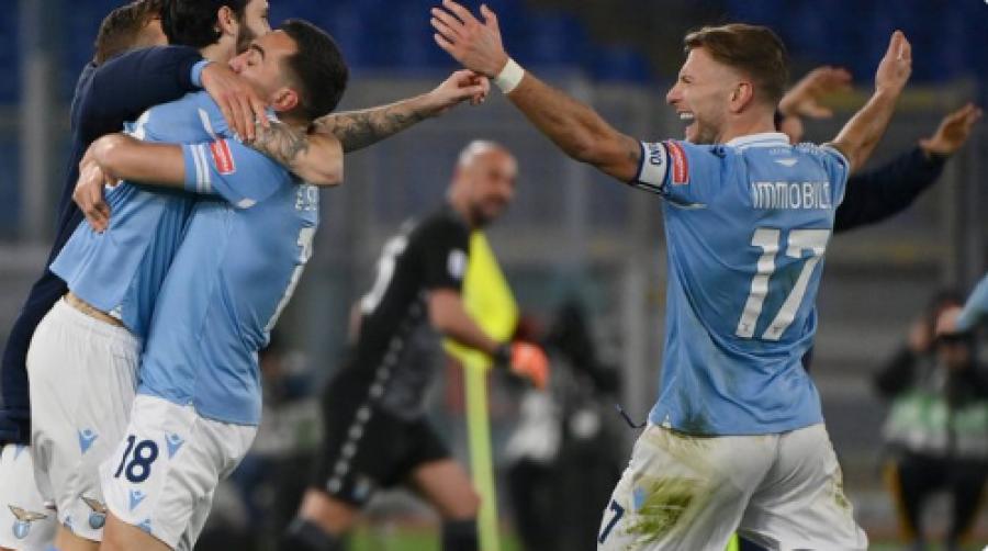 لاتزیو مقابل رم به پیروزی قانع کننده ای دست یافت ، موریسی 13 دقیقه در دربی بازی کرد