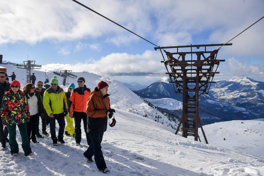 هوتی: برزوویکا به یک پیست اسکی بین المللی تبدیل خواهد شد
