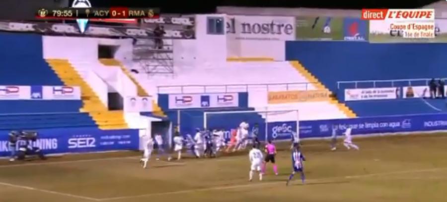 رئال مادرید تعجب کرده است ، آلکویانو در 9 دقیقه گذشته گلزنی کرد