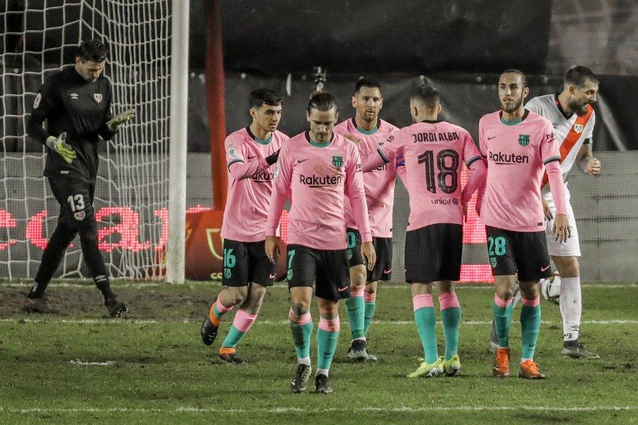 پیروزی با بازگشت چشمگیر ، بارسلونا به جام پادشاه صعود کرد
