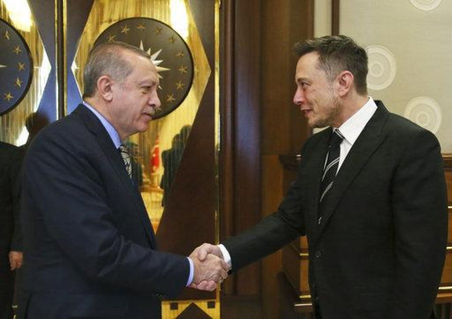 اردوغان در مورد همکاری فناوری فضایی با ماسک گفتگو می کند