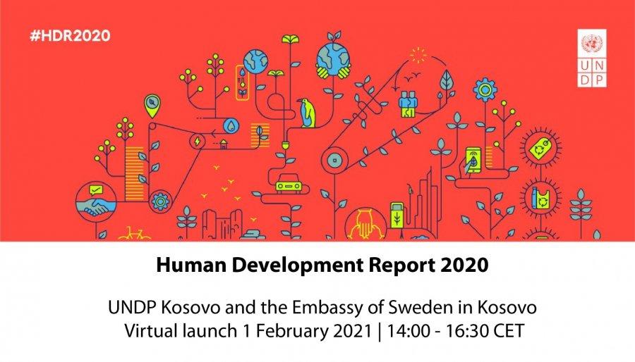UNDP فردا گزارش توسعه انسانی کوزوو 2020 را ارائه می دهد