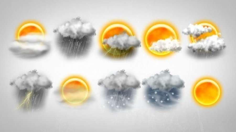 پیش بینی آب و هوا برای امروز