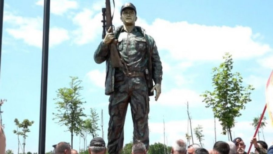 The statue of Hajredin Bajrami is inaugurated in Lipjan