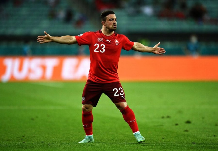 Shaqiri speaks after two goals scored against Turkey