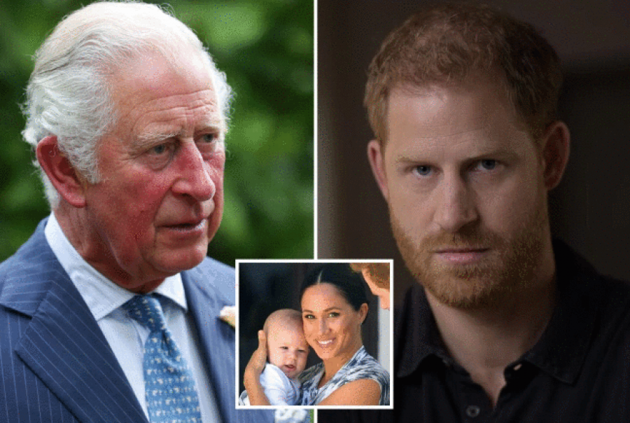 Prince Charles will not give Harry and Meghan's son the title of Prince