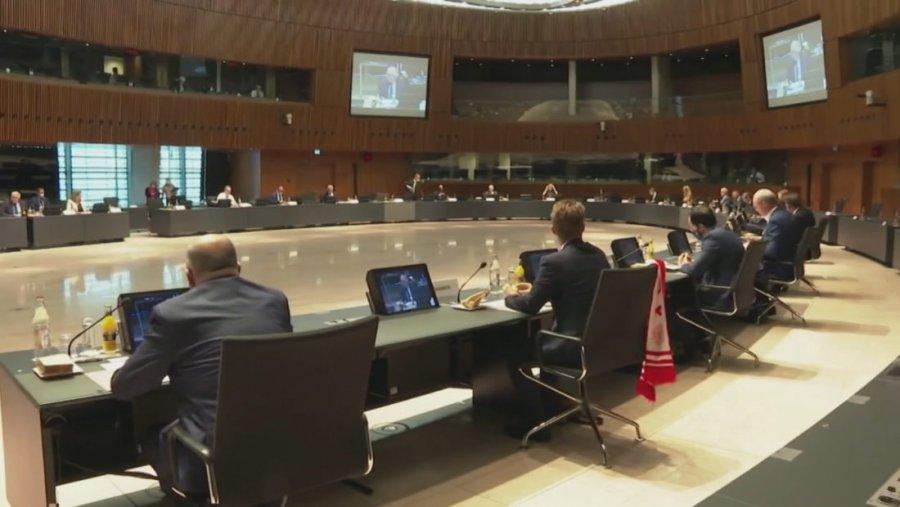 EU foreign ministers meet, focusing on the Kosovo-Serbia dialogue