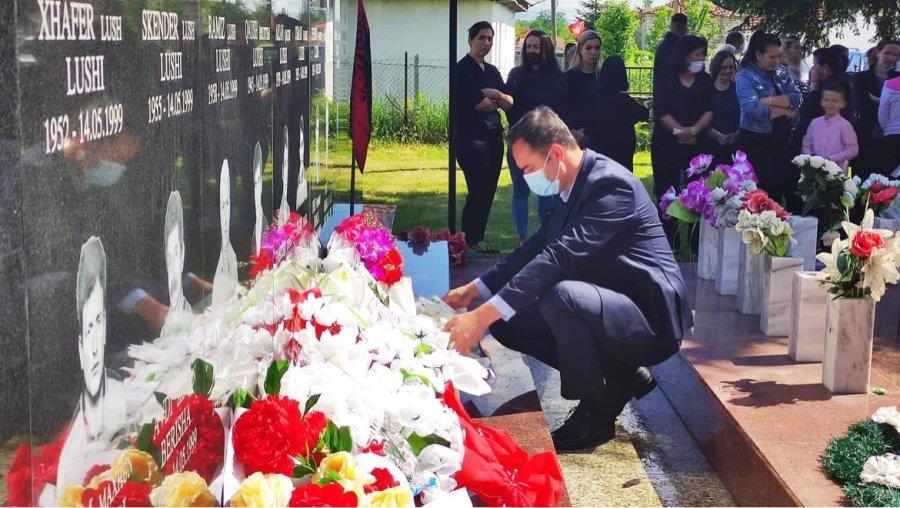 Konjufca با ادای احترام به شهدا در روستاهای پژو ، می گوید عدالت به اندازه آزادی ارزش دارد