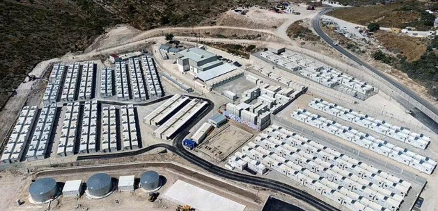 یونان با پذیرش هزاران افغان در حال ایجاد یک اردوگاه جدید است